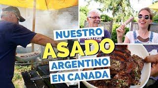 Un Asado Argentino a la Parilla en Canada
