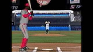 Major League Baseball 2K10 Nintendo DS Gameplay - Batting
