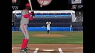 Major League Baseball 2K10 Nintendo DS Gameplay - Batting