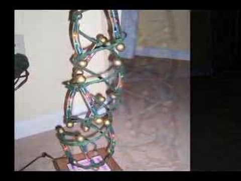 Xmas Light DNA model