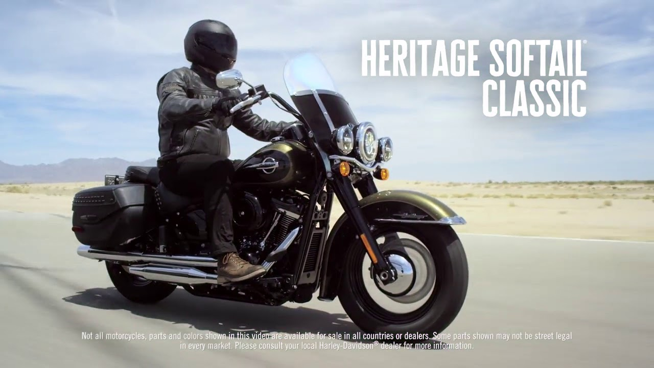 The All New 2018 Softail Line up Harley Davidson - YouTube