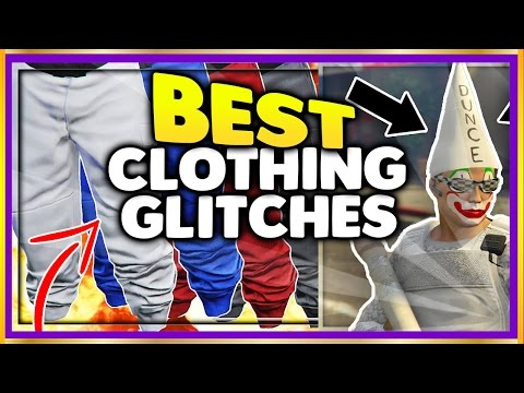 GTA 5 Online (SOLO) BEST TOP CLOTHING GLITCHES 1.39! DUNCE CAP GLITCH, WHITE/RED/BLUE JOGGERS & MORE
