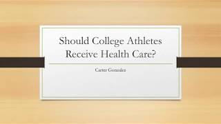 College Athlete Health Care Video