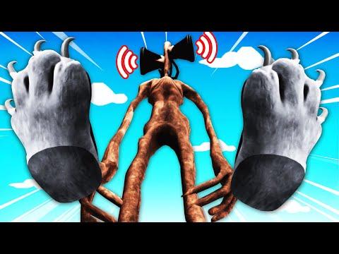 Destroying SIREN HEAD In VR CAT SIMULATOR