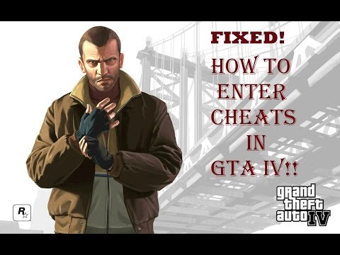 How To Enter Cheats In GTA IV