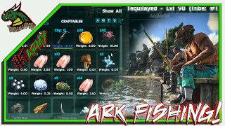 FISHING IN ARK!! HOW IT WORKS!
