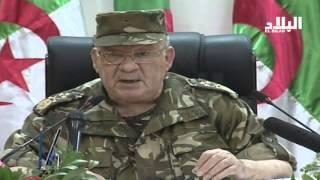 مناورات الجيش الشعبي الوطني بحضور الفريق قايد صالح