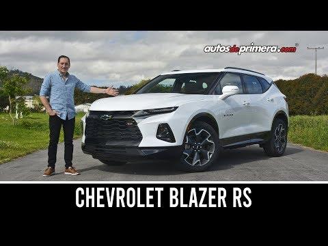 Chevrolet Blazer RS ¡impresionante Por Donde Se Mire! Prueba/Reseña