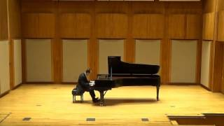 "Spencer Myer plays Ravel ""Miroirs"" - 1. Noctuelles"
