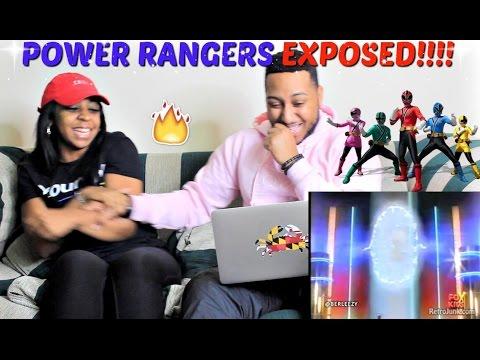 """Berleezy """"POWER RANGERS: EXPOSED"""" REACTION!!!"""