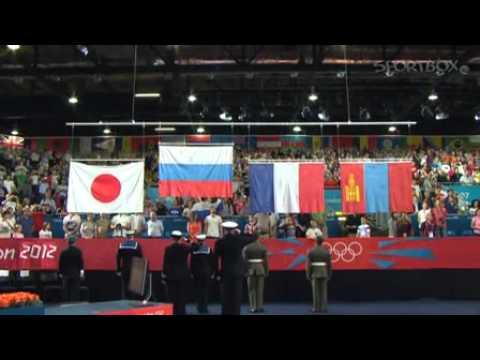 Олимпиада 2012   Видео   Церемония награждения Мансура Исаева