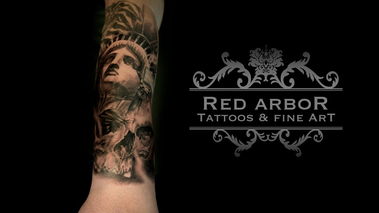 Liberty Or Death Tattoo Time Lapse Youtube