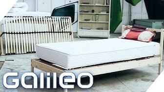 Wie billig darf's sein: Bett   Galileo
