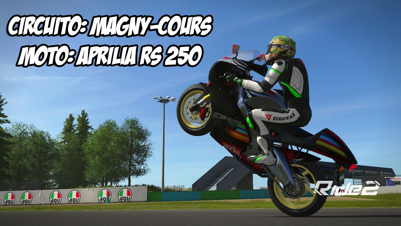 ride 2 aprilia rs 250 gameplay espa ol xbox one. Black Bedroom Furniture Sets. Home Design Ideas