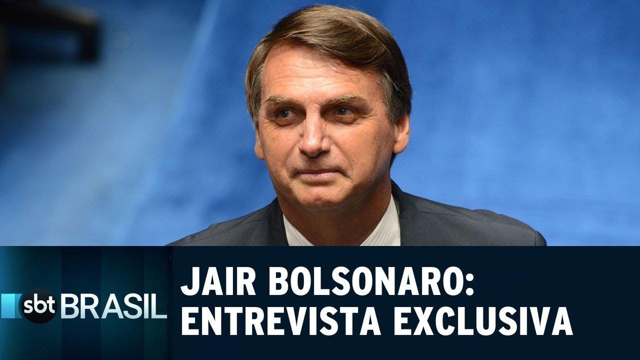 Resultado de imagem para Jair Bolsonaro fala sobre polêmicas em entrevista exclusiva ao SBT | S