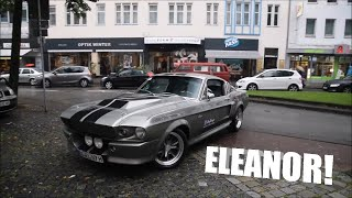 Shelby GT500 Eleanor Start up