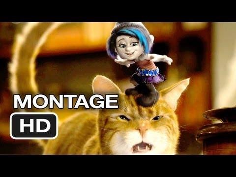 Smurfs 2 Music Montage - Ooh La La (2013) - Katy Perry Animated Movie HD