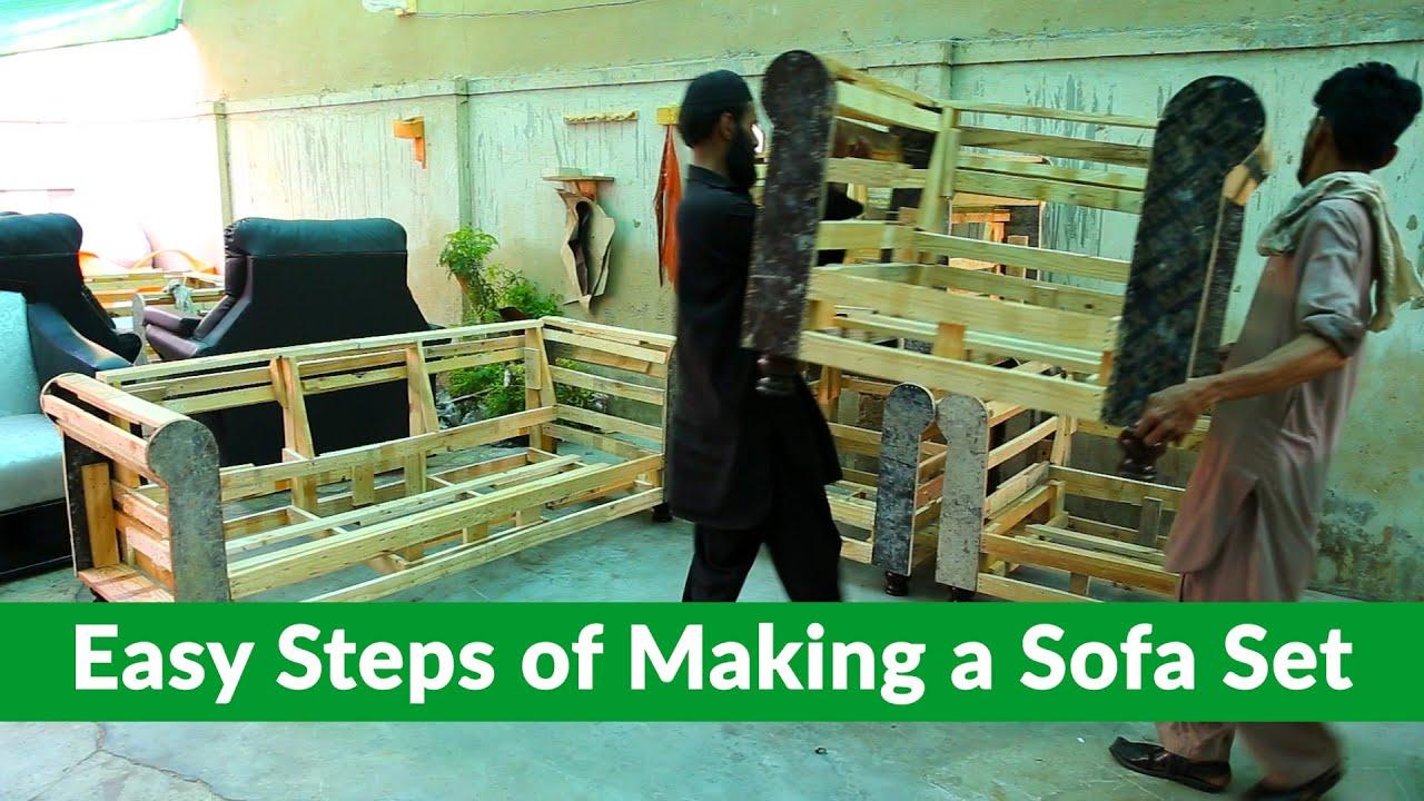 How To Make A Sofa Set