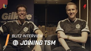 Mithy & Zven on facing Doublelift, TSM's biggest competition, and EU pride