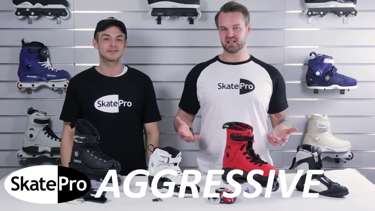 How to choose the best aggressive inline skates | Buyer's Guide |  SkatePro com