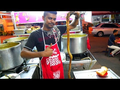 BULL'S PENIS SOUP in MALAYSIA – Local Food Malaysia w/ Luke Martin | Food and Travel Channel |