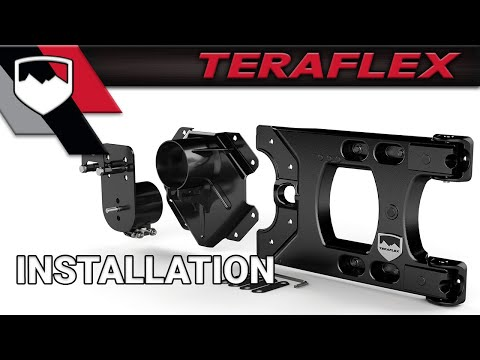 TeraFlex Install: HD Hinged Carrier and Adjustable Spare Tire Mounting Kit
