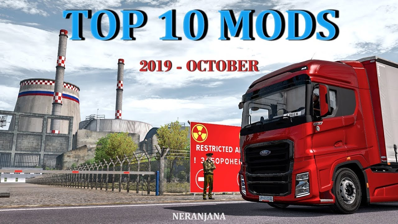 Top 10 Ets2 Mods October 2019 Euro Truck Simulator 2