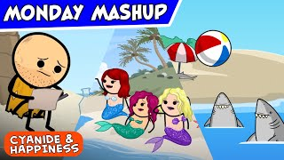 99 Problems But a Beach Ain't One | Cyanide & Happiness Monday Mashup