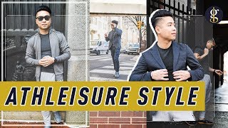 How To WearAthleisure5 Ways | Men's Style & Fashion Outfit Inspiration | How To Style thumbnail