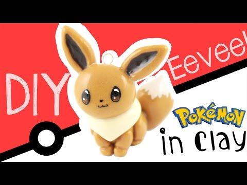 ♡DIY Eevee in Polymer Clay! - Pokemon - ♡ | Kawaii Friday