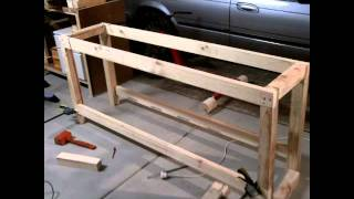 S&scustoms-how To Build A Garage / Workshop Workbench For Under $70
