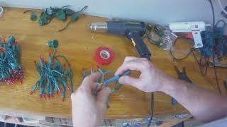 Cutting LED Light String   M5 Lights from Big Lots