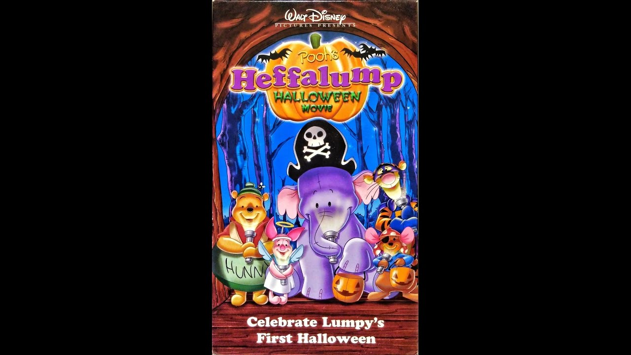 opening to poohs heffalump halloween movie 2005 vhs youtube - Winnie The Pooh Heffalump Halloween