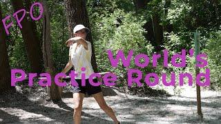 Zoe Andyke & Kona Panis WORLDS Practice Round! (FPO BACK 9)