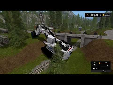 Farming Simulator 17 -  Mining And Construction Economy Timelapse Ep#8