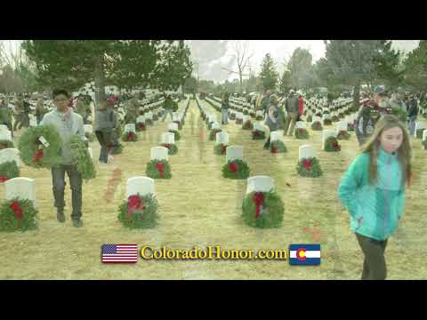 Laura - Colorado Springs charity raising funds for Wreaths Across America Day