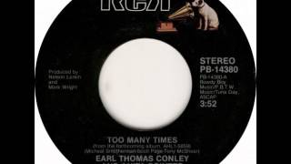 Earl Thomas Conley/Anita Pointer ~ Too Many Times