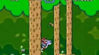 Super Mario World - More Levels Cleared Without Pressing A or B