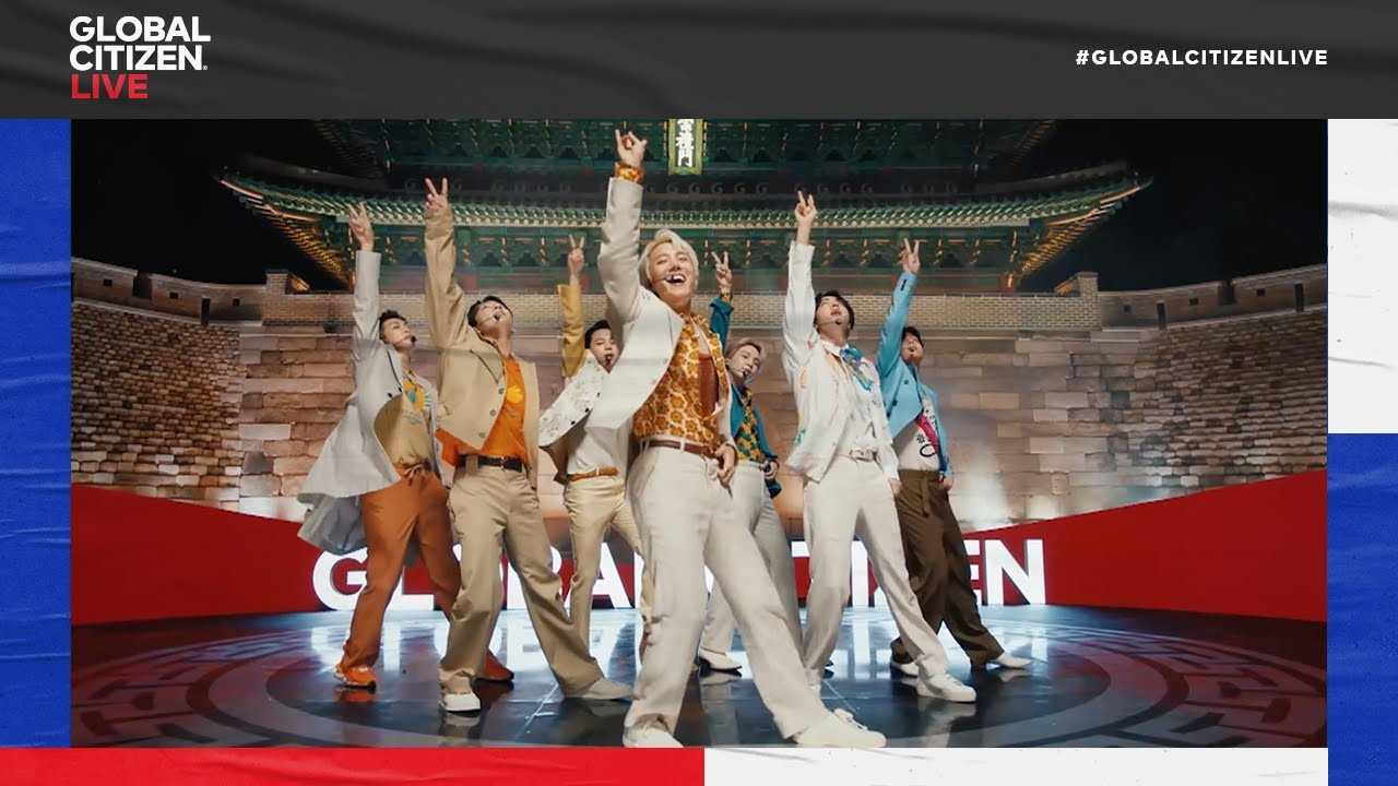 """Download BTS Performs """"Permission to Dance"""" in Seoul to open Global Citizen Live 