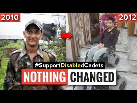 Disabled Cadets | Nothing Has Changed !