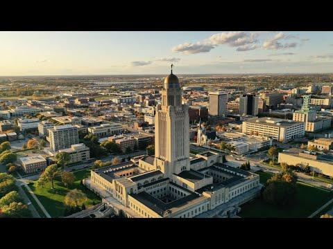 Lincoln Nebraska in 4K by Drone // Spring 2019