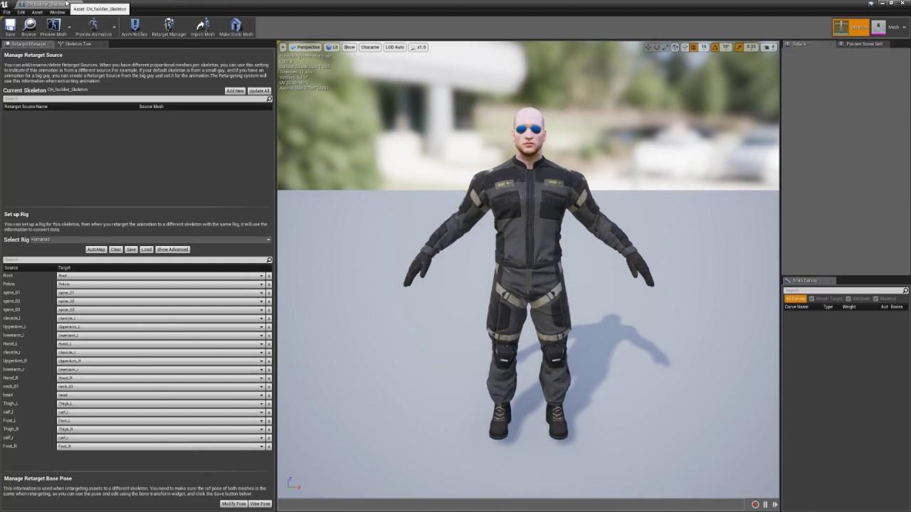 Animation Retargeting ue4 - animation retargeting made easy quick tutorial