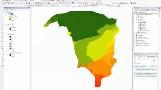 Delineating Watershed and Basins Using ArcGIS