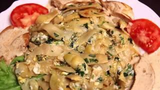 """Теплый салат с зеленым лобио  - Ресторан """"Tbilisi"""""""