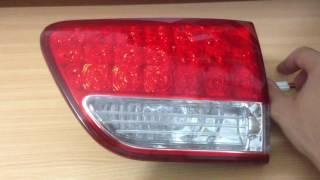 Blind tail lights led tuning C-crosser / Peugeot 4007 / Outlander