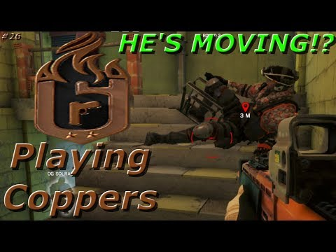 Moving Frost Mat Glitch!? Road To Copper - Rainbow Six Siege Funny Moments