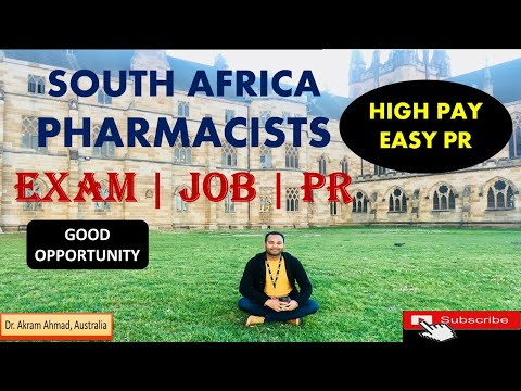 Become Pharmacist in South Africa | High Salary with Easy PR Requirements for Pharmacy