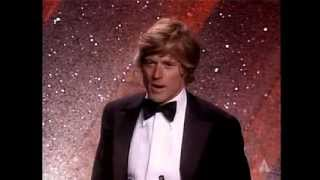 "Robert Redford ‪winning the Oscar® for Directing ""Ordinary People"""