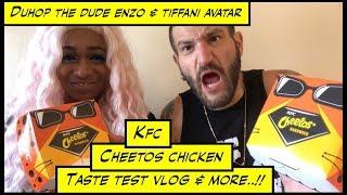 duhop kfc cheetos chicken sandwich taste test vlog