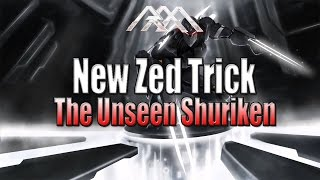 PATCHED :( - New Zed Trick - The Unseen Shuriken - League of Legends